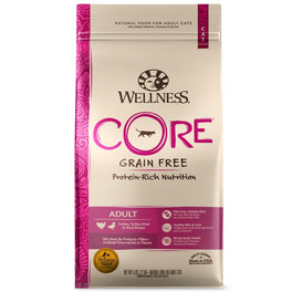 Wellness CORE Adult Turkey, Turkey Meal & Duck Dry Cat Food