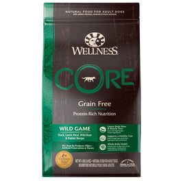 FREE Treats: Wellness Core Grain-Free Wild Game Formula Dry Dog Food
