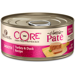 Wellness CORE Pâté Turkey & Duck Canned Cat Food 155g