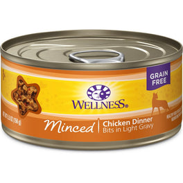 Wellness Complete Health Minced Chicken Dinner Canned Cat Food 156g