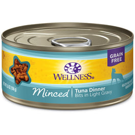 Wellness Complete Health Minced Tuna Dinner Canned Cat Food 156g