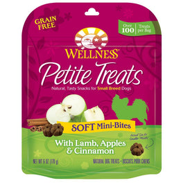 Wellness Petite Treats Soft Mini-Bites - Lamb, Apples & Cinnamon 170g