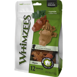 33% OFF: Whimzees Alligator Medium Natural Dog Treats 360g