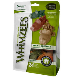 33% OFF: Whimzees Alligator Small Natural Dog Treats 360g