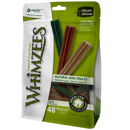 33% OFF: Whimzees Stix Extra Small Natural Dog Treats 420g