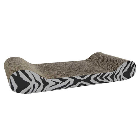 10% OFF: Catit Scratcher White Tiger Lounge with Catnip