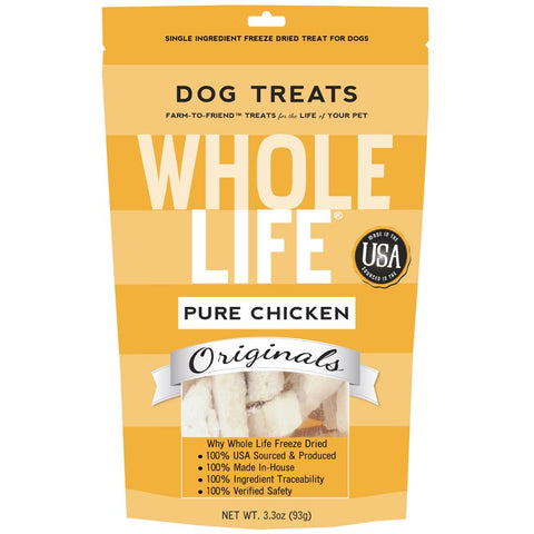 Whole Life Originals Freeze Dried Chicken Breast Dog Treats - Kohepets