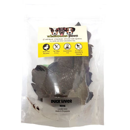 Wholesome Paws Duck Liver Pet Treats 100g