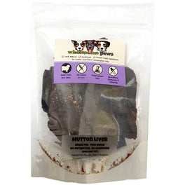Wholesome Paws Mutton Liver Cat & Dog Treats 100g