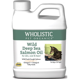 Wholistic Pet Organics Wild Deep Sea Salmon Oil 950ml
