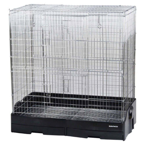 Wild Sanko Easy Home Pro 80 Chinchilla Cage - Kohepets