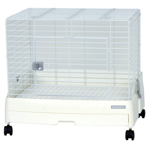 Wild Sanko Easy Home Rabbit Cage With Pull Out Tray - Kohepets