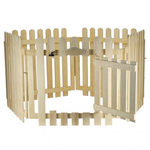 Wild Sanko Wooden Rabbit Playpen - Kohepets