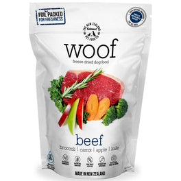 $111 for 3 packs of 280g: WOOF Beef Freeze Dried Raw Dog Food (11.11 SALE)!
