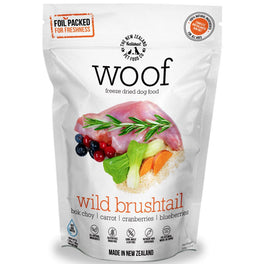 WOOF Wild Brushtail Freeze Dried Raw Dog Food