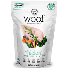 $111 for 3 packs of 320g: WOOF Chicken Freeze Dried Raw Dog Food (11.11 SALE)!