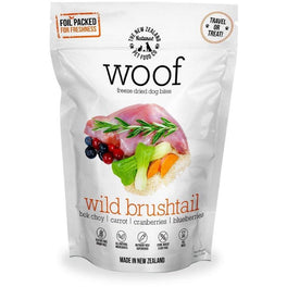 $5 OFF: WOOF Wild Brushtail Freeze Dried Dog Bites Treats 50g