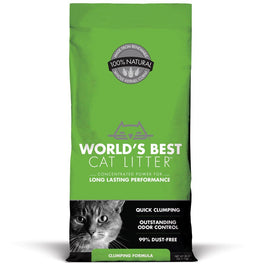 World's Best Cat Litter Clumping Corn Kernel Cat Litter 14lb
