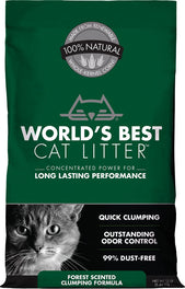 World's Best Cat Litter Forest Scented Clumping Corn Kernel Cat Litter 6lb