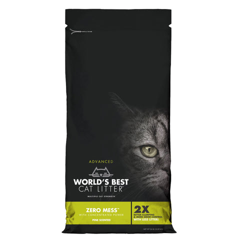 World's Best Cat Litter Zero Mess Pine Scented Multiple Cat Clumping Corn Kennel Cat Litter - Kohepets