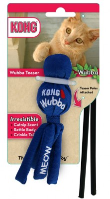 Kong Wubba Teaser Cat Toy