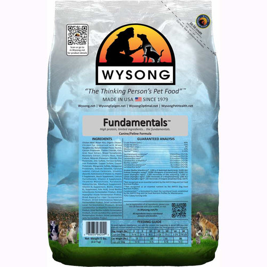 Wysong Fundamentals Limited Ingredient Formula Dry Cat & Dog Food - Kohepets