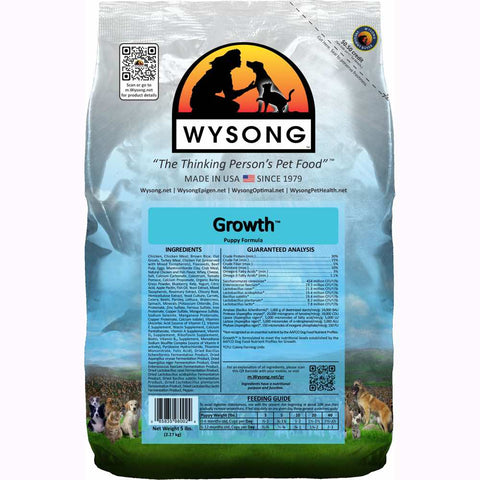 Wysong Growth Puppy Formula Dry Dog Food - Kohepets