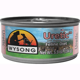 10% OFF: Wysong Uretic Organic Chicken Canned Cat Food 156g