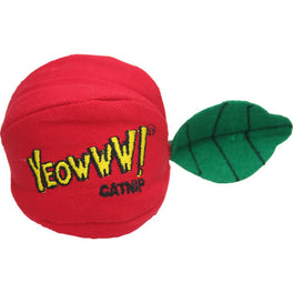 Yeowww! Catnip Apple Cat Toy