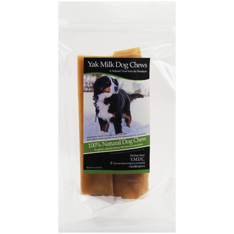 YMDC Yak Milk Medium Dog Chews 2ct - Kohepets