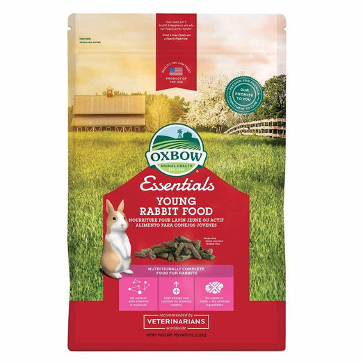 20% OFF: Oxbow Essentials Young Rabbit Food 10lb