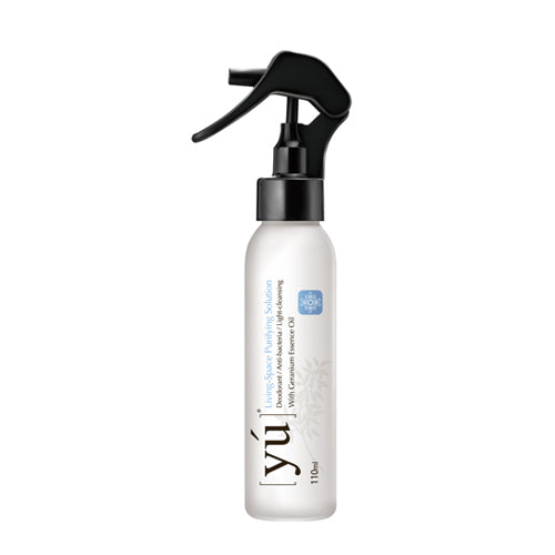 YU Living-Space Purifying Solution With Geranium Essence Oil 110ml - Kohepets