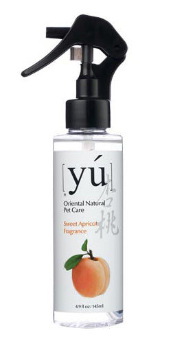 YU Sweet Apricot Fragrance Spray 145ml - Kohepets