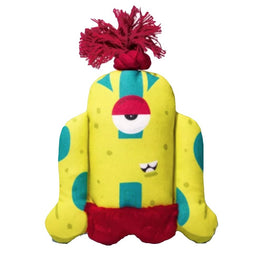 Zee.Dog Biggoe Canvas Plush Dog Toy