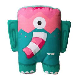 Zee.Dog Elefunk Canvas Plush Dog Toy