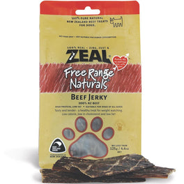 BUY 2 GET 1 FREE: Zeal Free Range Naturals Beef Fillet Dog Treats 125g