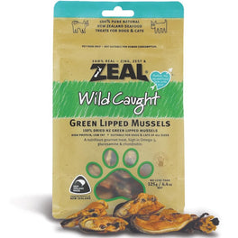Zeal Free Range Naturals Green Lipped Mussels Cat & Dog Treats 125g