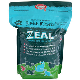 Zeal 3 Fish Risotto Soft Dry Cat Food 1.5kg