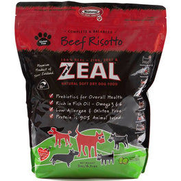 Zeal Beef Risotto Soft Dry Dog Food 3kg