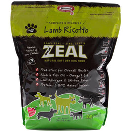 Zeal Lamb Risotto Soft Dry Dog Food 3kg
