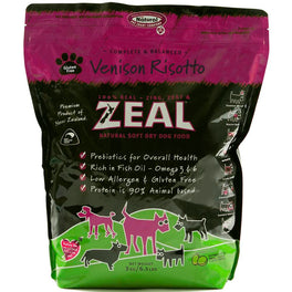 Zeal Venison Risotto Soft Dry Dog Food 3kg