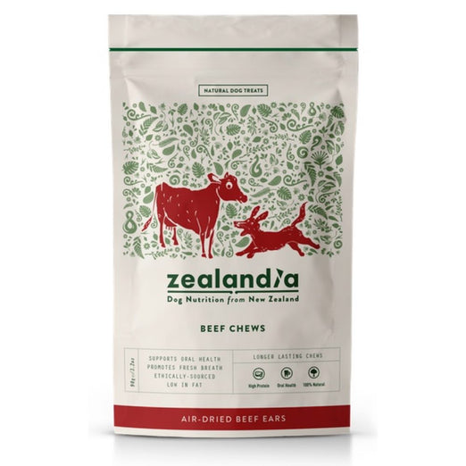 Zealandia Beef Chew Dog Treats 90g - Kohepets
