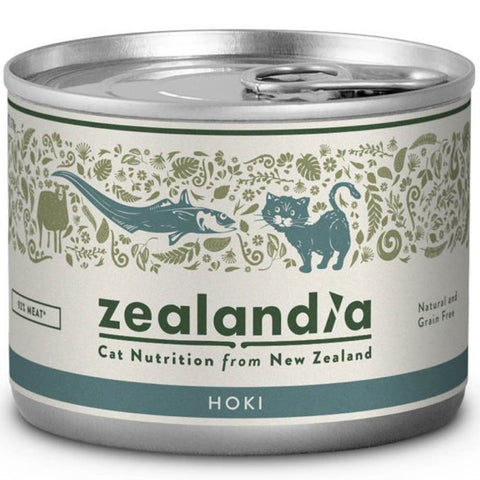 Zealandia Hoki Adult Canned Cat Food 185g - Kohepets