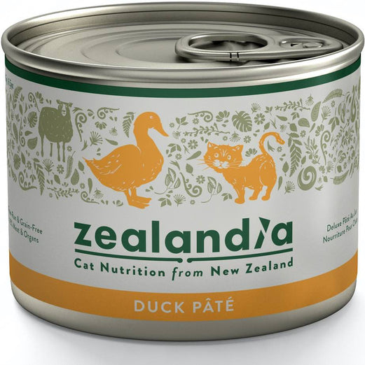 Zealandia Free-Run Duck Adult Canned Cat Food 185g - Kohepets