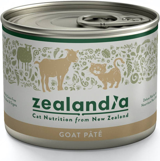 Zealandia Wild Goat Adult Canned Cat Food 185g - Kohepets