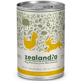 Zealandia Free Range Chicken Canned Dog Food 370g