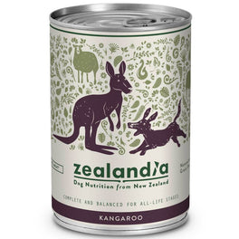 Zealandia Wild Kangaroo Canned Dog Food 370g