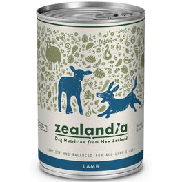 Zealandia Free Range Lamb Canned Dog Food 370g