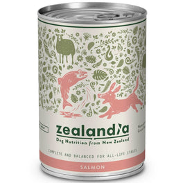 Zealandia NZ Salmon Canned Dog Food 370g