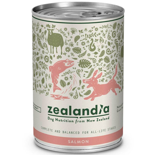 Zealandia NZ Salmon Canned Dog Food 385g - Kohepets